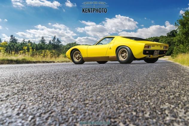 Automotive photographer Kent