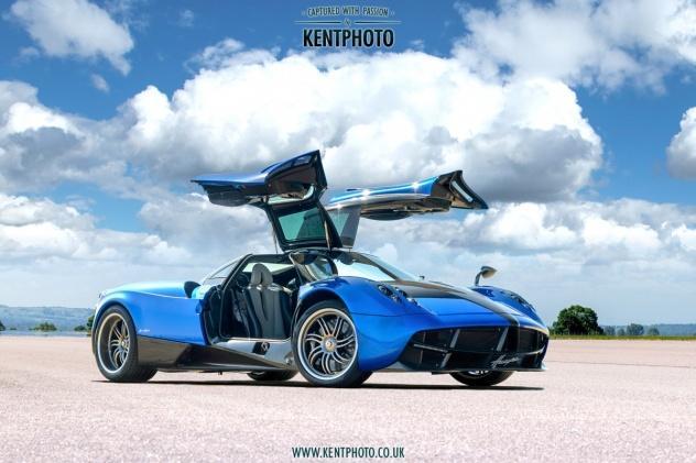 Hypercars photography Kent